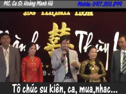 MC đám cưới hay Hà Nội_ MC- Hoàng Mạnh Hà