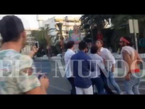 No fuma en Pipa: Higuaín se volvió loco y casi boxea a un argento en un boliche