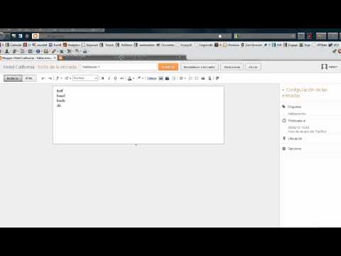 Cómo Crear Pestañas Con Etiquetas de Blog