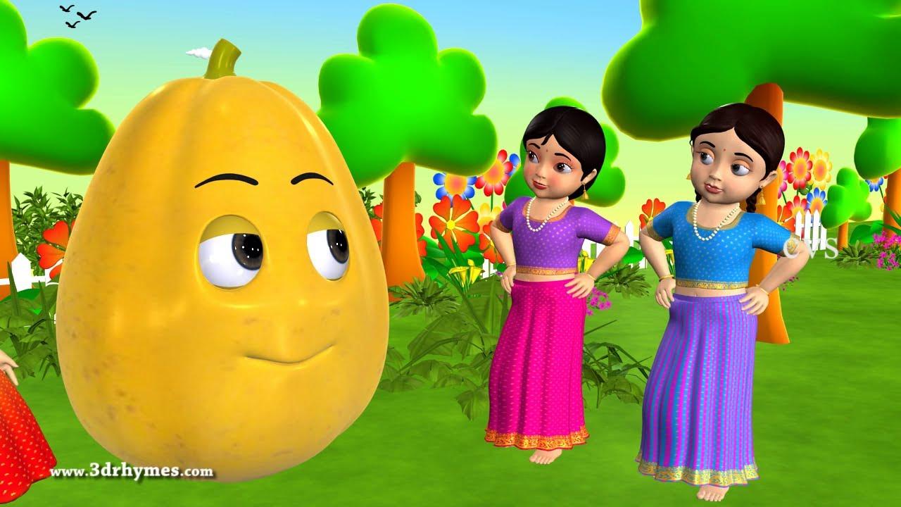 learn telugu pandlu - fruits
