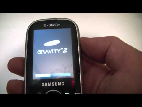 How To Master Reset / Restore A Samsung Gravity 2 Cell Phone