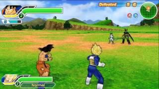 DBZ Tenkaichi Tag Team Survival Goku and Vegeta (Gogeta and Vegito Finishers) - PSP games
