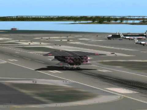 Воздушно космический самолет Илья Муромец патрулирует побережье США, не валяй дурака Америка