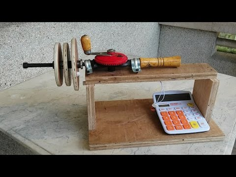 How to Make DIY Universal Coil Winding Machine with Turn Counter