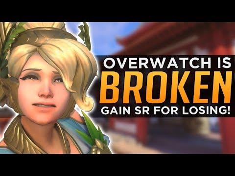 Overwatch is BROKEN! - Gain SR For LOSING!