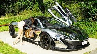 McLaren P1 GOLD DIGGER PRANK!