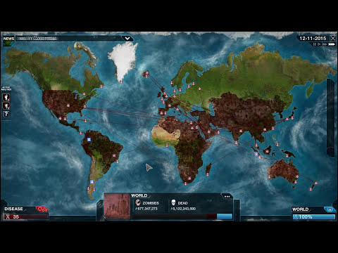 Plague Inc. Evolved: Necroa Virus MEGA BRUTAL