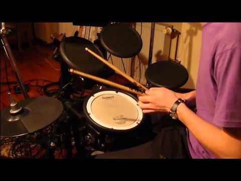 Nauka Gry Na Perkusji -- Prosty Rytm Perkusyjny POLKA HD