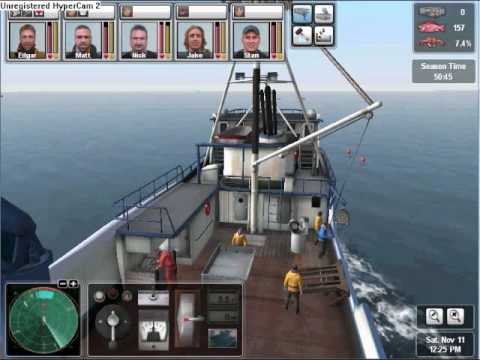 Deadliest Catch Alaskan Storm String Hauling pt1
