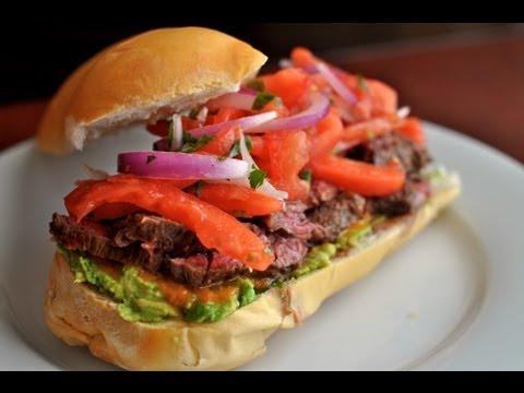 Grilled Skirt Steak Sandwich  / World of Flavor