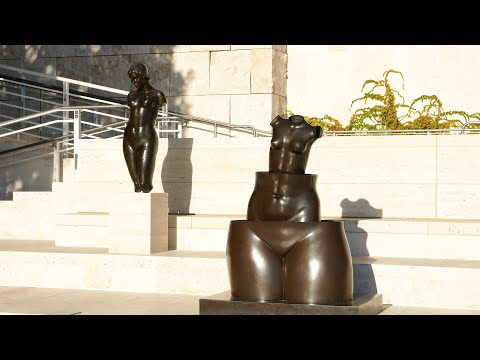 Getty Museum in Los Angeles, California (HD)