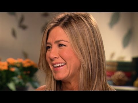 Jennifer Aniston Reveals 'Panic' That Set In Before Tackling Stripper Role - 'GMA' Interview 2013