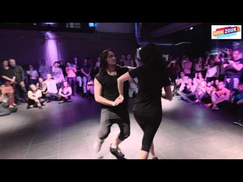 Mafie + Anna  - Dutch International Zouk Congres 2015 -  Demo