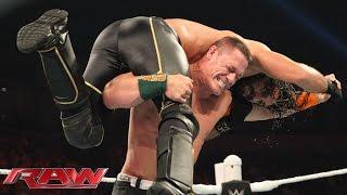 John Cena vs. Seth Rollins - United States Championship Match: Raw, Sept. 21, 2015