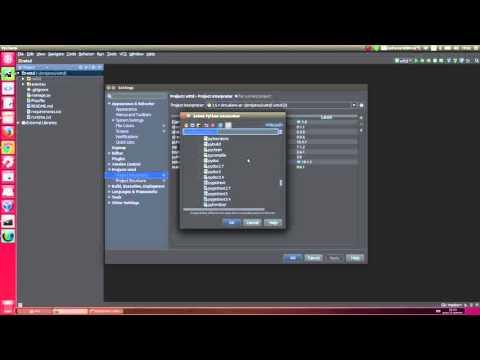 Abrindo um projeto Python no Pycharm 5.x e Selecionando o Interpretador