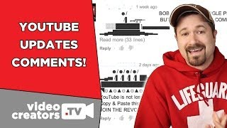 YouTube Fixes the Comments (kinda)!
