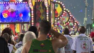 Carnaval de Rio: un accident ternit le défilé
