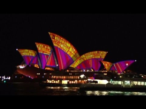 Vivid festival lights up Sydney