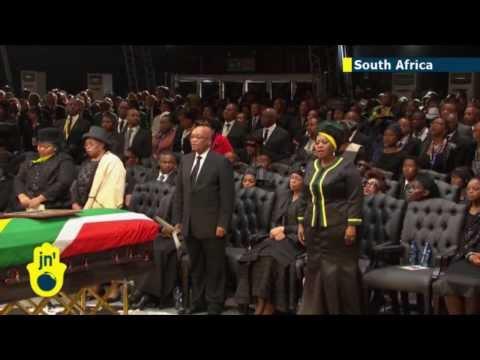 Mandela buried at state funeral service
