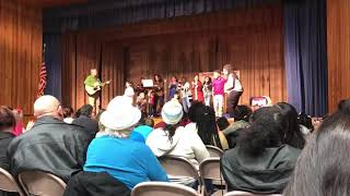 Overton Elementary's CCAC Students Sing Baby Shark