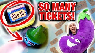 Broken arcade game = SO MANY TICKETS! | Double Ticket Tuesday at Gameworks Las Vegas