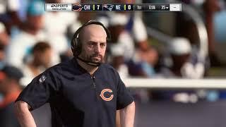 Madden NFL 19 - Chicago Bears vs New England Patriots (Offseason)
