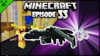 My FIRST Minecraft Dragon Challenge! | Python's World (Minecraft Survival Let's Play) | Episode 55