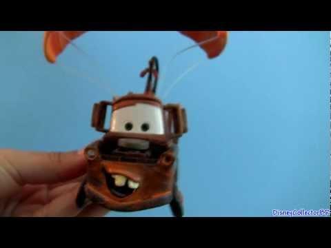 2012 Mater saves Christmas ornaments from CARS 2 Disney Pixar Mattel ornamentos