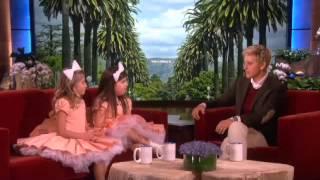 Sophia Grace & Rosie's Oscar Advice for Ellen on Ellen show
