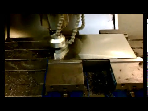 Suburban Tool Fly Cutter Cutting a Mirror Finish on a 9
