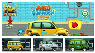 AUTO CAR WASH GARAGE || car games android gameplay || (By BURBUJA GAMES)
