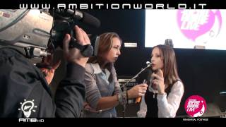 AMBITIONWORLD Eventi - Japan Anime Live ITALY Emanuela Pacotto al TG5 - AMBITION HD