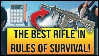 THE BEST RIFLE IN RULES OF SURVIVAL - A COMPARISON