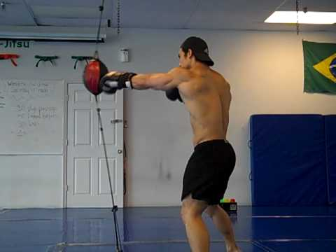 Cardio Training Episode 7 by Musclemania Pro Tuan Tran: Double End Bag Image 1