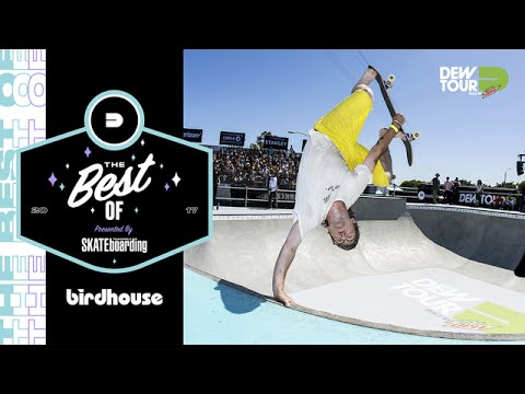 Best of Birdhouse TransWorld SKATEboarding Team Challenge Dew Tour Long Beach 2017