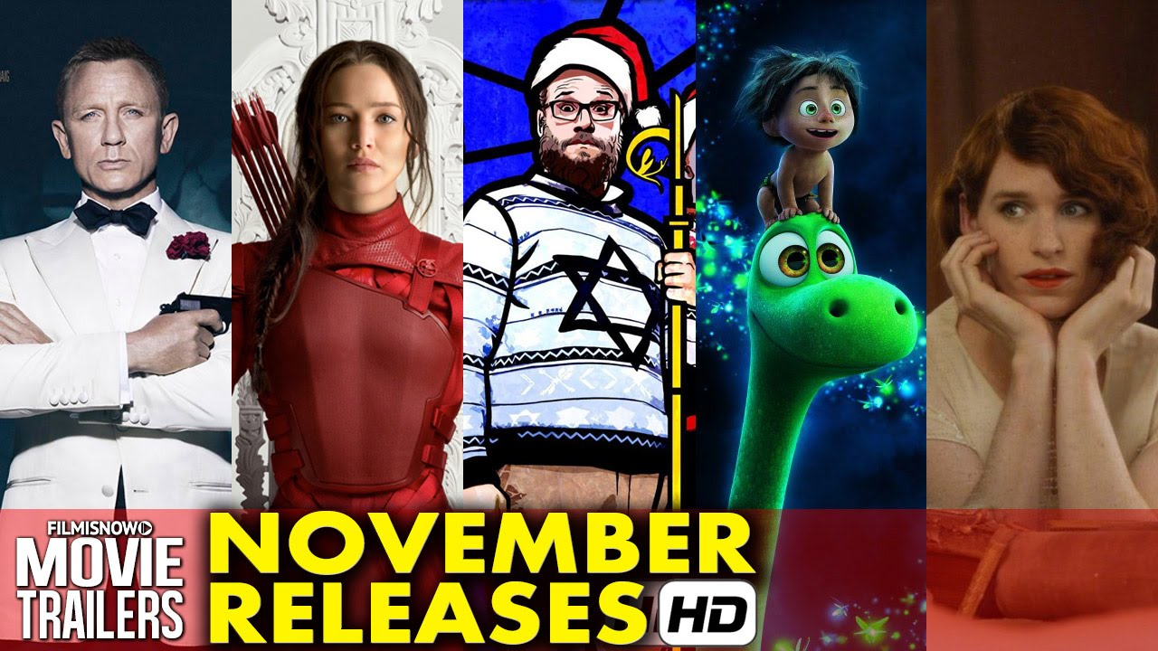 Top 6 November Releases - What are you going to watch? (2015) HD