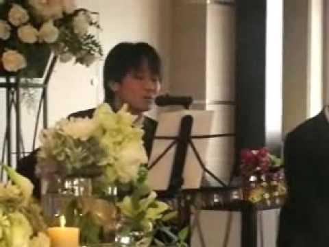 槇原敬之 「僕が一番欲しかったもの」 結婚式余興