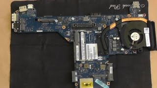 How To Dell Latitude E6330 full replacement tutorial MainBoard
