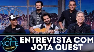 Entrevista com Jota Quest | The Noite (11/12/17)