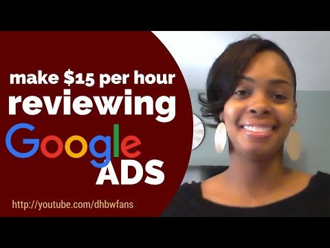 (Closed) Hiring Part-Time Raters To Review Google Ads ( Non-Phone)