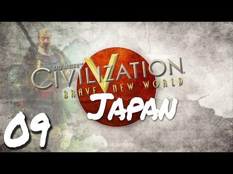 Civilization V Brave New World as Japan - Episode 9 ...Liberating Samarkand!...