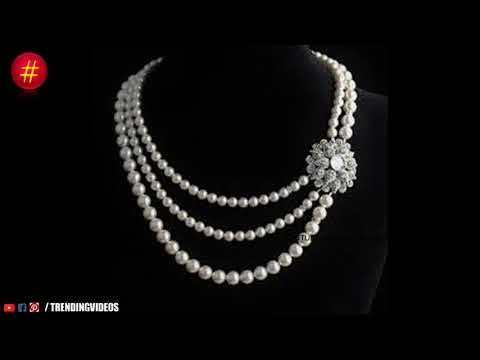 Latest Indian Fresh Pearl Short Necklace Designs - She Fashion