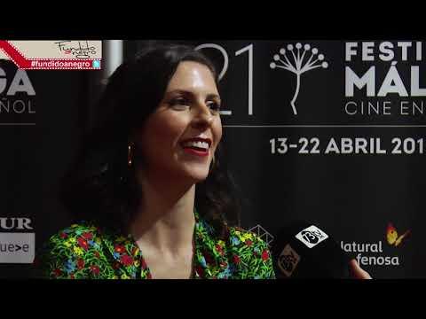 Entrevista Barbara Santa Cruz #FundidoaNegro #21FestivalMalaga