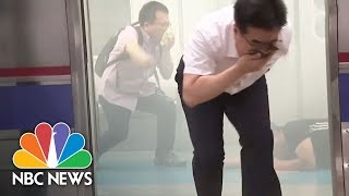 South Korean Drills Prepare For Gas, Dirty Bomb Attack By North Korea | NBC News