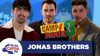Jonas Brothers Talk 'Camp Rock 3' & Dream Collabs 🎸 | FULL INTERVIEW