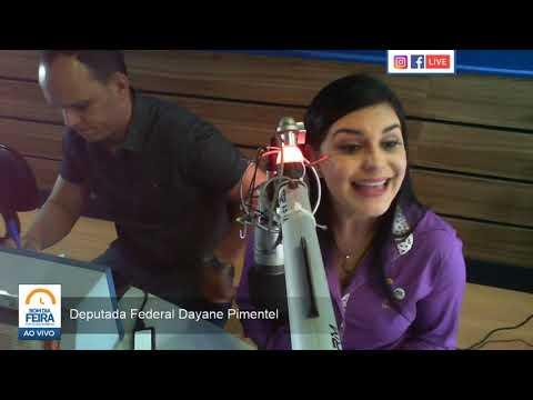 Deputada Dayane Pimentel confirma pré-candidatura à prefeitura de Feira