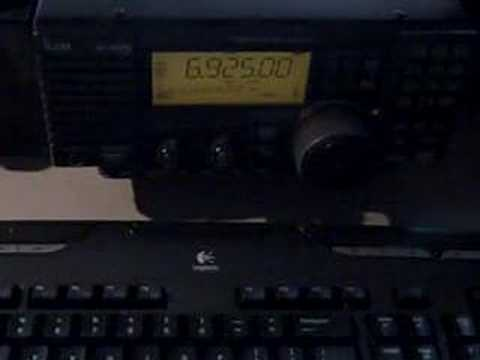 Pirate Radio via ICOM R-75