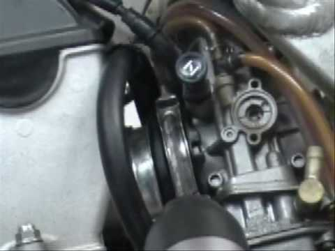 Kawasaki   Stroke Carb Adjustment
