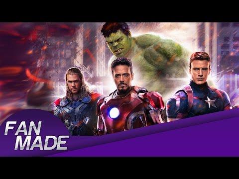Fan - Made - Avengers: Age of Ultron - Creando el Poster - HD
