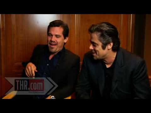 Josh Brolin and Benicio Del Toro about Sean Penn and